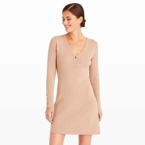 Club Monaco Camel Colour Sweater Dress Size Medium